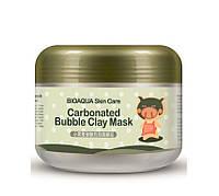 Маска для лица Bioaqua carbonated bubble clay mask, фото 1