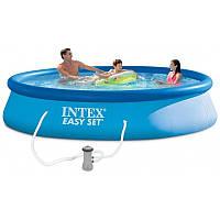 Надувной бассейн Intex 396х84 см  (28142)
