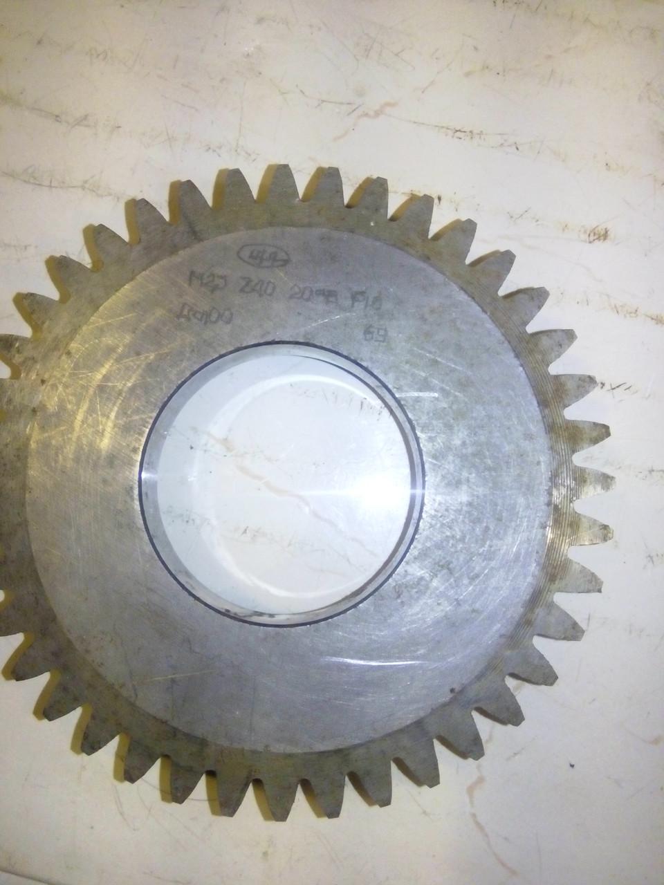 Долбяк дисковый М 2,5z40 d20 град  P18 дел. диаметр100