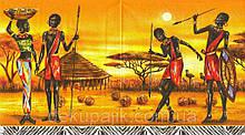Декупажная салфетка Аборигены 2793