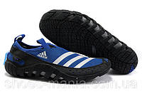 Мужские кроссовки аквашузы Adidas Jawpaw 2 blue
