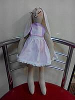 Крольчонок тильда Лапушка. Авторская кукла ручной работы