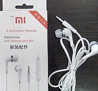 Наушники с микрофоном MI-1