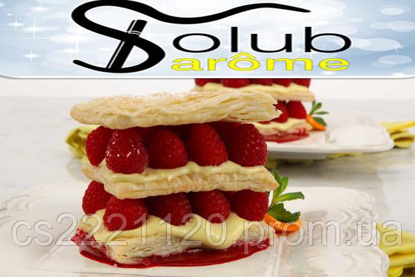 Ароматизатор Solubarome Raspberry Sabayon (Малиновый десерт) 5 мл.