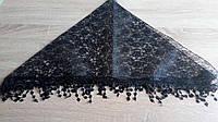 Косынка гипюр обшитая Черные