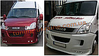 Передний бампер под покраску на Iveco Daily 2006-2011