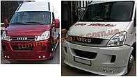 Передний бампер под покраску на Iveco Daily 2011-2014