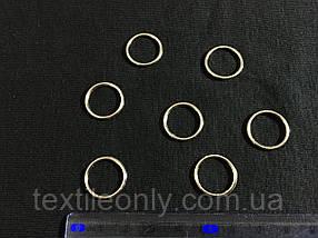 Кольцо бельевое 15 мм цвет никель (серебро)
