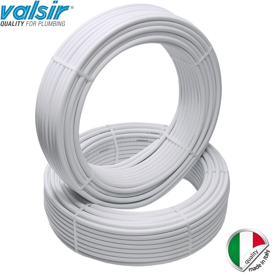 Металлопластиковые трубы в изоляции Valsir Pexal 20х2 (Италия), фото 1