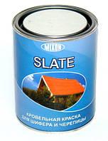 MIXON SLATE кровельная краска для шифера и черепицы коричневая 0,7л
