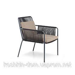 Крісло Купер Лаунж плетені меблі з ротанга