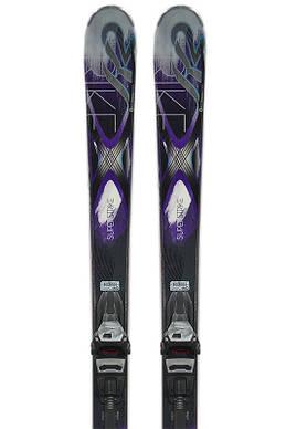 Лыжи K2 Superstrike L160см R14