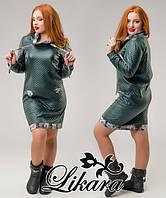 Платье  трикотаж стёжка, фото 1