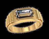 Мужское золотое кольцо Кольчуга