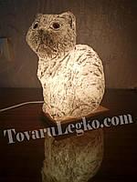 Соляная лампа - Кошка (4 кг)