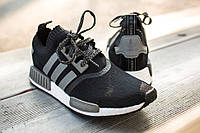 Мужские кроссовки Adidas NMD Original Black Grey