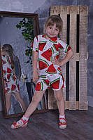 Детский  костюм для девочки Арбуз