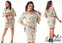 Изумительное весеннее платье