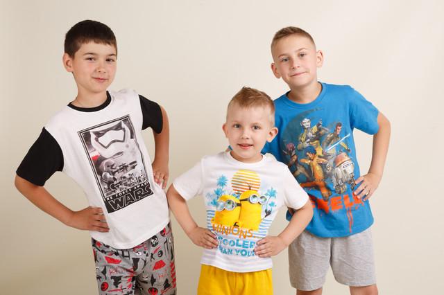 Пижамы на мальчиков