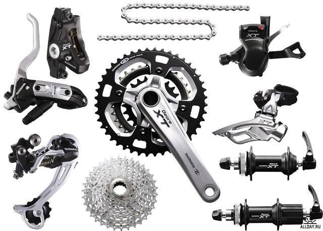 Велозапчасти и аксессуары
