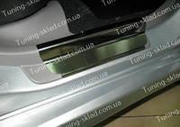 Накладки на пороги Subaru Forester 2 (накладки порогов Субару Форестер 2)