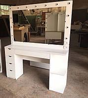 Стол для визажиста (макияжа) гримерный с подсветкой V152