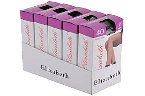 Носки Elizabeth 40 den microfibre Nero (00108/Nero)   10 пар, фото 2