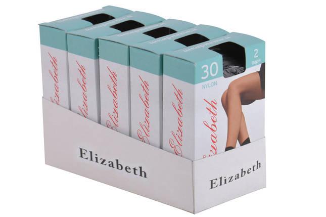 Носки Elizabeth 30 den lycra Nero (00107/Nero) | 10 пар, фото 2