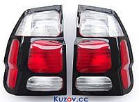 Фонарь задний Mitsubishi Pajero Sport '00-08 правый (DEPO) на крыле, красно-белый