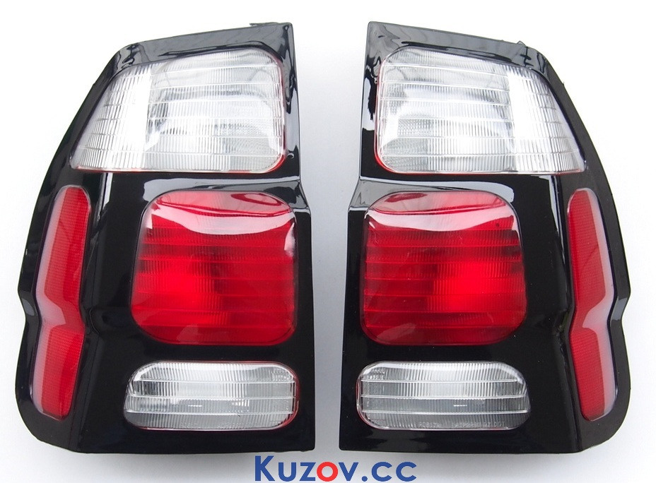 Фонарь задний Mitsubishi Pajero Sport 00-08 правый (Depo) на крыле, кр