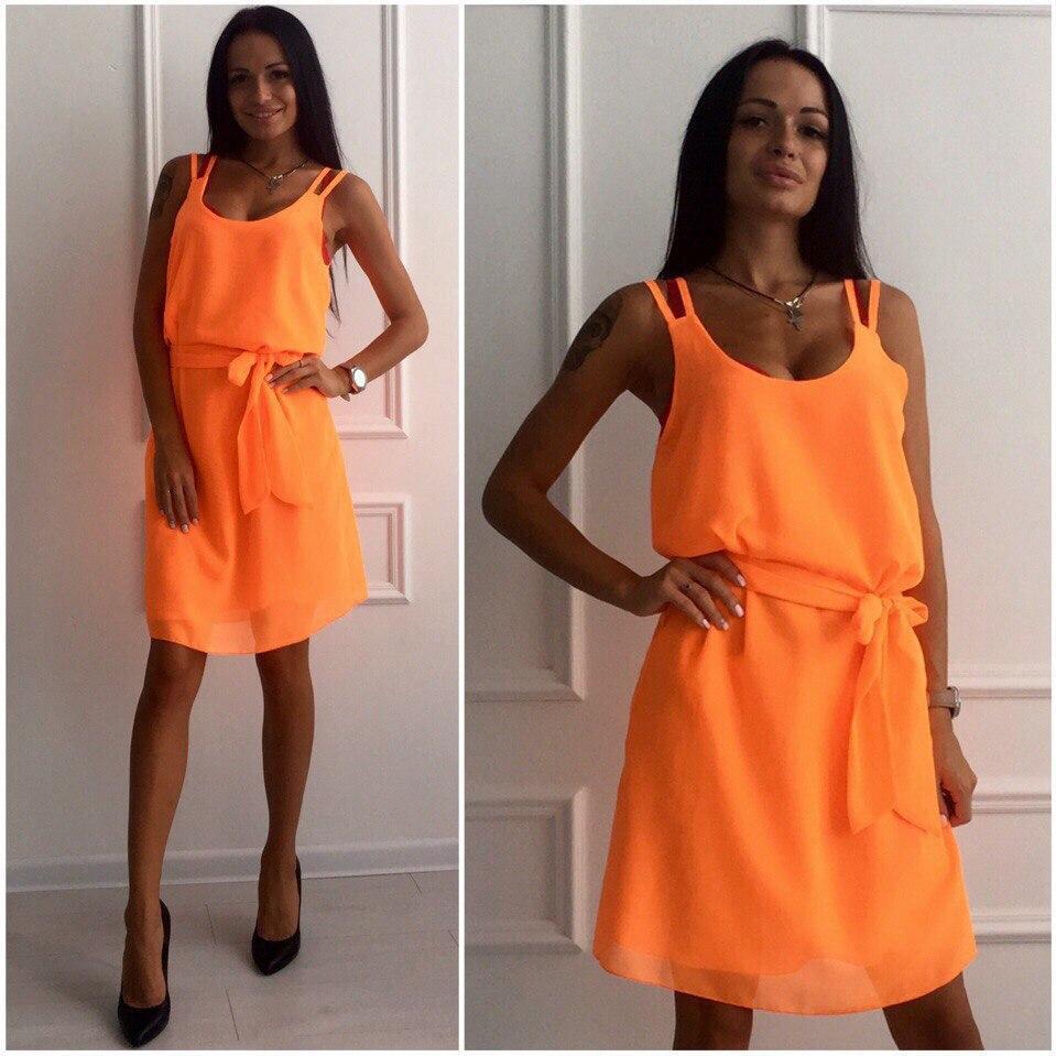 a4692c79c0b Купить Летнее шифоновое платье в Николаеве от компании