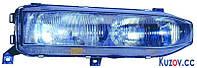 Фара Mitsubishi Galant  88-93 правая (DEPO) 2-ламп.