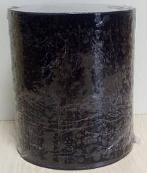 Свечки Цилиндр  диаметром 105мм и высотой 120мм Черный 050