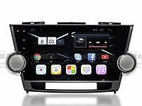 Штатная магнитола для Toyota Highlander 2007-2013 - AudioSources D90-2690 Android 4.4.4