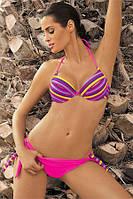 Красивый женский купальник Alison от TM Marko (Польша) Розовый