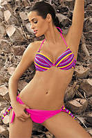 Красивый женский купальник Alison 297 от TM Marko (Польша) Розовый