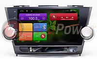 Штатная магнитола Toyota Highlander 2007-2013 - RedPower 21035B Android (1024x600)