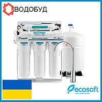 Фильтр обратного осмоса Ecosoft с помпой
