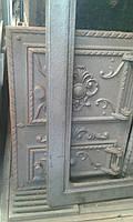 """Дверцы чугунные """"Корона Квадратная"""", дверь печная"""