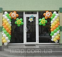 Гирлянда из воздушных шаров на открытие спортивного комплекса