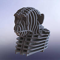 Гигантский 3D пазл Monkey