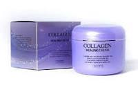 Ночной питательный крем с коллагеном Jigott Collagen Healing Cream (100ml)