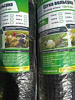 Сетка вольерная черная  1м*100м