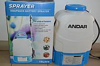 Обприскувач акумуляторний Andar Electric 16L, фото 1