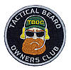 "Патч ""Tactical Beard Owners Club"""