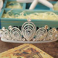 Диадема свадебная АЛИСИЯ корона Тиара Виктория