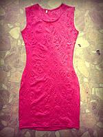Летнее платье с узорами
