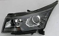 Передние Chevrolet Cruze 2009-2015 альтернативная тюнинг оптика фары тюнинг-оптика передние на Chevrolet Cruze Шевроле Круз, фото 1