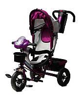 Трехколесный велосипед с игровой панелью Baby Trike 60 Фиолетовый