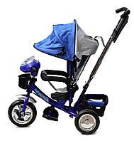 Трехколесный велосипед с игровой панелью Baby Trike 60 Синий